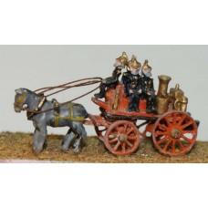 E19 Shand Mason horse drawn fire engine Unpainted Kit N Scale 1:148