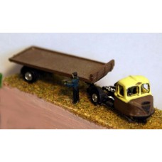 E1 BR Scammell Scarab flatbed 1950's Unpainted Kit N Scale 1:148