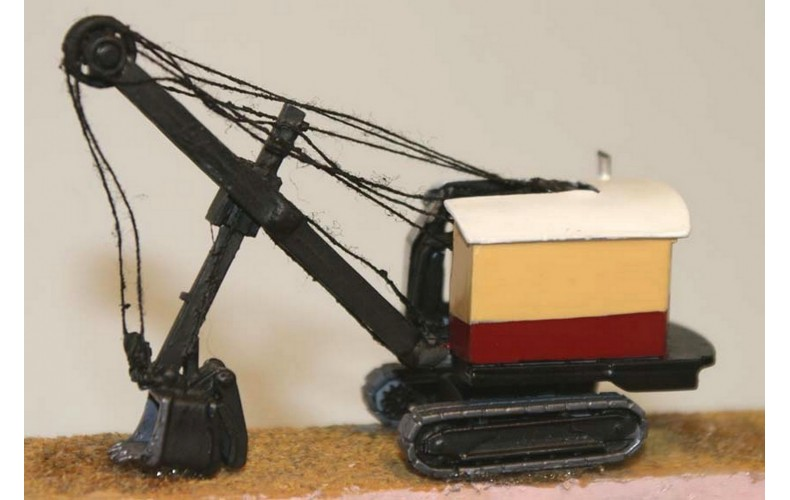 E25 Ruston Bucyrus19RB face shovel '37-55 Unpainted Kit N Scale 1:148