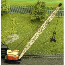 E25ab 19-RB dragline/clam bucket/demo'37-55 Unpainted Kit N Scale 1:148