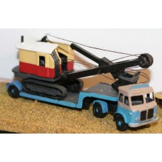 E26 AEC Mercury Tractor & low loader 50's Unpainted Kit N Scale 1:148