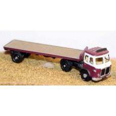 E27 AEC Mercury tractor&flatbed trailer 50's Unpainted Kit N Scale 1:148