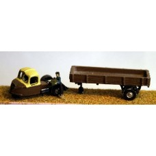 E2 BR Scammell Scarab lowside 1950'sUnpainted Kit N Scale 1:148