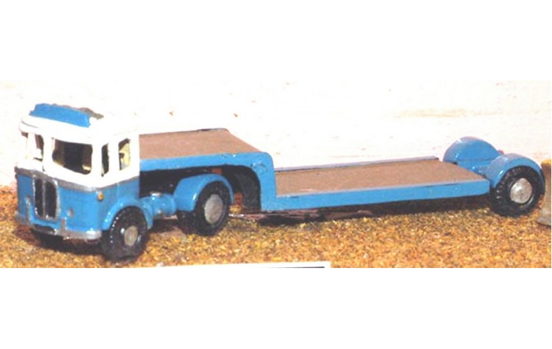 E30 Leyland Beaver & low loader 1947 Unpainted Kit N Scale 1:148