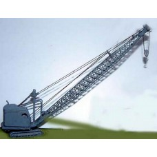 E31a 22-RB Dragline/Demolition Crane '55 on Unpainted Kit N Scale 1:148