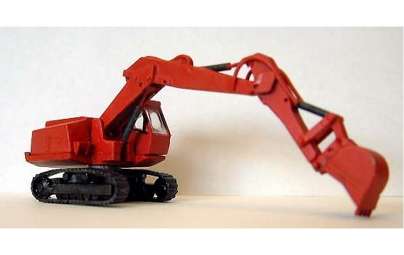 E33 Preistman Hydraulic Excavator  Unpainted Kit N Scale 1:148