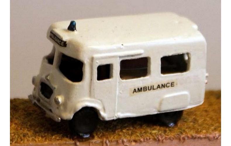 E35 Austin LD Ambulance Unpainted Kit N Scale 1:148