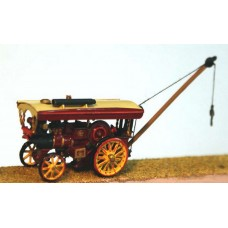 E38 Burrell Showman's Traction Engine Unpainted Kit N Scale 1:148