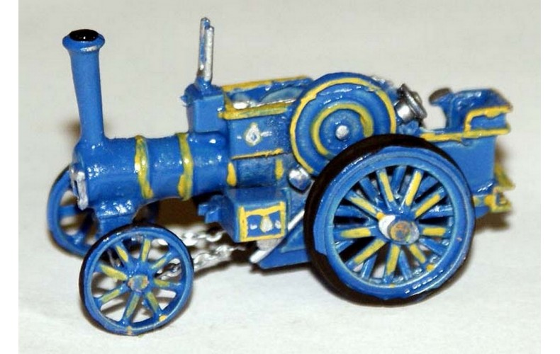 E39 Burrell Road Traction Engine Unpainted Kit N Scale 1:148