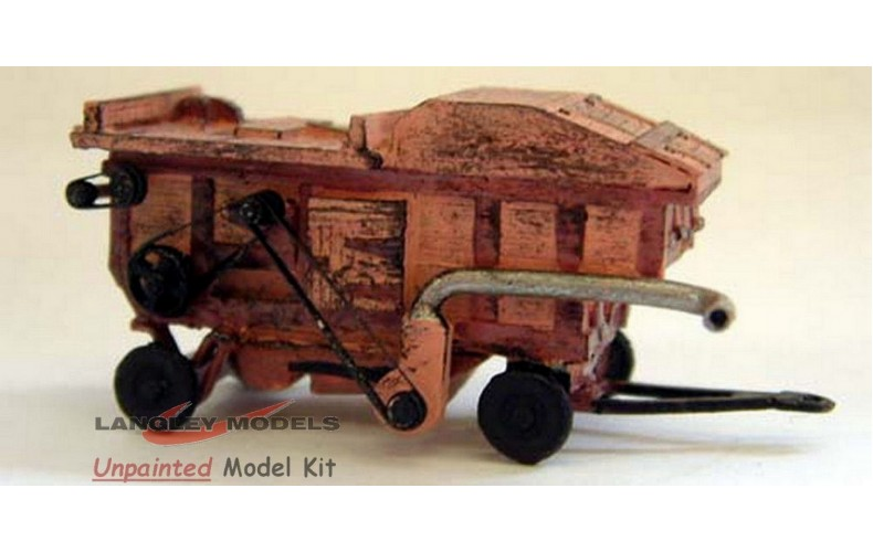 E40 Garvie Threshing Machine Unpainted Kit N Scale 1:148