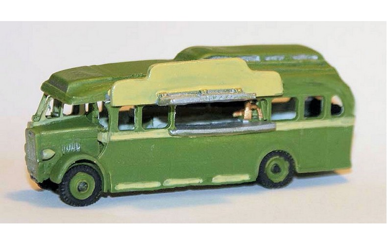 E45 Leyland Fish & Chip Coach Unpainted Kit N Scale 1:148