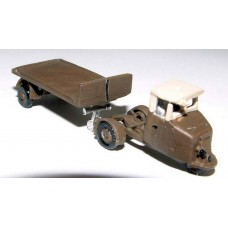 E4 Scammell Mechanical Horse Flatbed 1935 Unpainted Kit N Scale 1:148