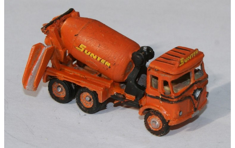 E50 Foden S20 Cement Mixer '54 Unpainted Kit N Scale 1:148