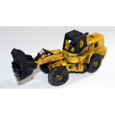 E55 JCB/CAT Type Wheeled Hi Lift Loader Unpainted Kit N Scale 1:148