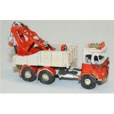 E57 Foden S20 6 wheel Breakdown Crane Unpainted Kit N Scale 1:148