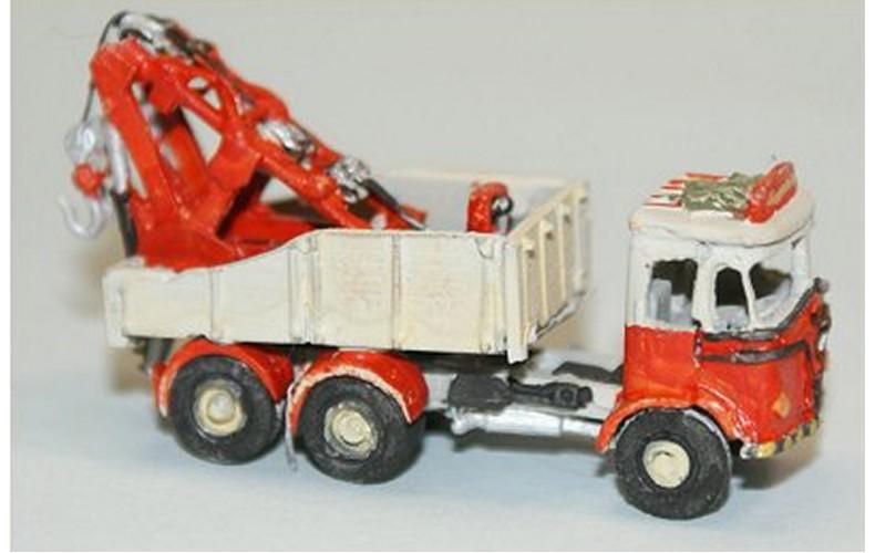 E57 Foden S20 6 wheel Breakdown Crane Unpainted Kit N Scale 1:148