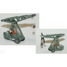 E59 Ransome Rapier 2 ton Crane or Demo ball Unpainted Kit N Scale 1:148