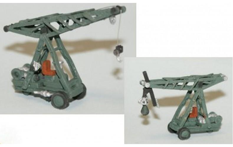 E59 Ransome Rapier 2 ton Crane or Demo ball Unpainted Kit N Scale 1:148