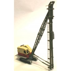 E61 Ruston Bucyrus 22RB Pile Driver Unpainted Kit N Scale 1:148