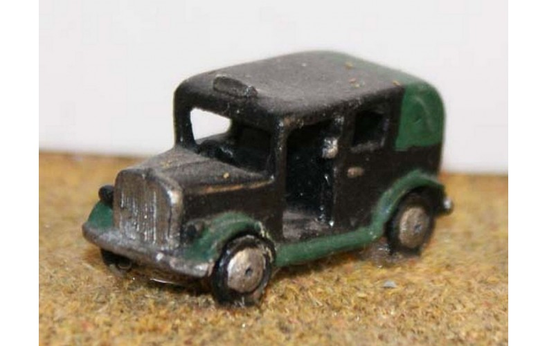 E7 Taxi cab 1930's onward Unpainted Kit N Scale 1:148
