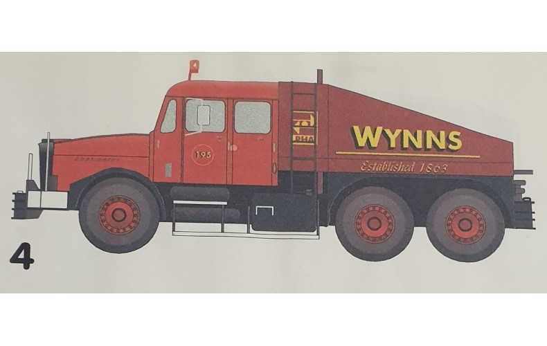 T29 Late Wynns Decals (OO Scale 1/76th)