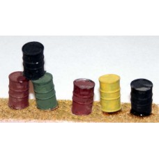 F103 6 Oil drums F103 Unpainted Kit OO Scale 1:76