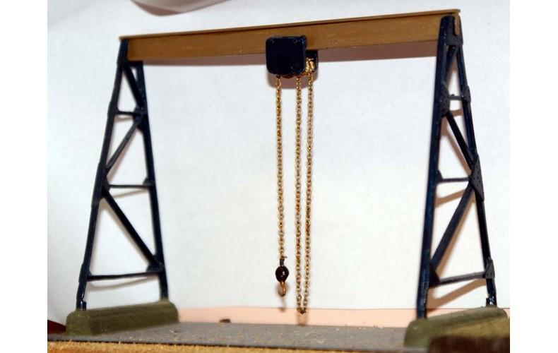 F104 Gantry Hoist F104 Unpainted Kit OO Scale 1:76