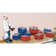 F113 Milkman with 9 milk crates F113 Unpainted Kit OO Scale 1:76