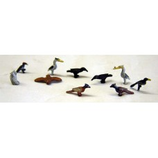 F147p Painted Wild Birds OO Scale 1:76 Painted Model