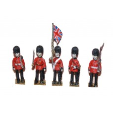 F14 Guards Colour Party Unpainted Kit OO Scale 1:76
