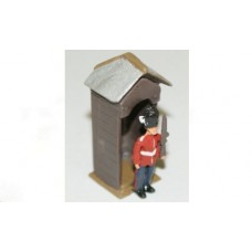F14a Grenadier Guard and Sentry Box Unpainted Kit OO Scale 1:76