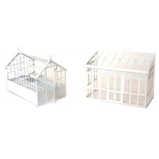 F155 assorted Garden Greenhouses F155 Unpainted Kit OO Scale 1:76