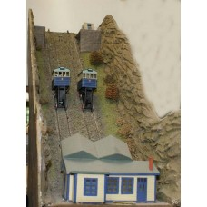 F161 Cliff Railway-Coaches,accessories & motorising Unpainted Kit OO Scale 1:76