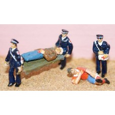 F169 First Aid Set (St John Ambulance) Unpainted Kit OO Scale 1:76