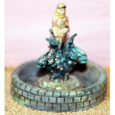 F176p Painted Neptune Water Fountain OO Scale 1:76