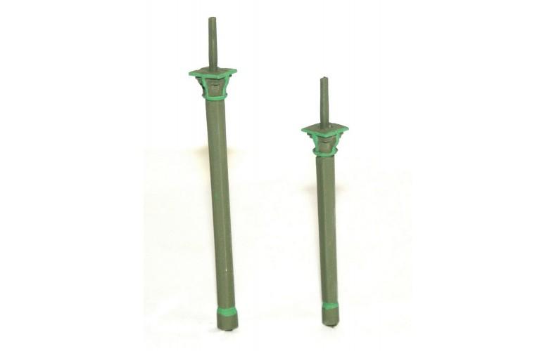 F190c2 4 x 12' Platform Canopy Pillars F190c2 Unpainted Kit OO Scale 1:76