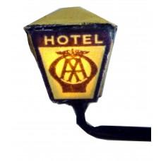 F221 AA/RAC Hotel working Light incl led resistor Unpainted Kit OO Scale 1:76