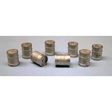 F233 8 x Modern Beer Kegs F233 Unpainted Kit OO Scale 1:76