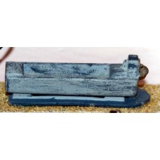 F26 Horse trough F26 Unpainted Kit OO Scale 1:76