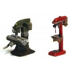 F285 Ind Machine. Mill & Pillar Drill F285 Unpainted Kit OO Scale 1:76