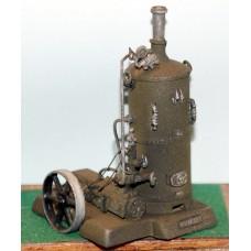 F291 Vertical Boiler & Steam Water pump/flywheel F291 Unpainted Kit OO Scale 1:76