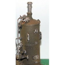 F291a Vertical Boiler only F291a Unpainted Kit OO Scale 1:76