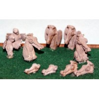 F292 Gargoyle's and water spouts/outlets F292 Unpainted Kit OO Scale 1:76