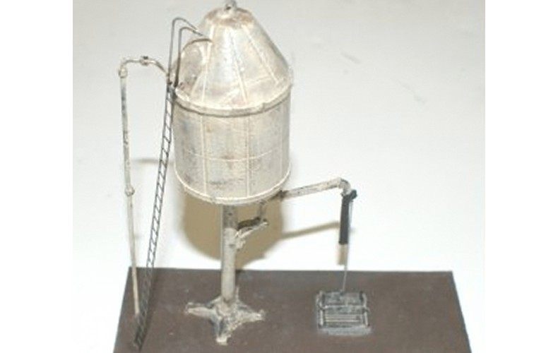 F308 GWR Conical Water Tower Unpainted Kit OO Scale 1:76