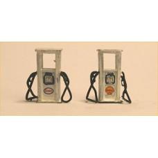 F312 80's Pertol Pumps & Transfers Pump Companies x 4 F312 Unpainted Kit OO Scale 1:76