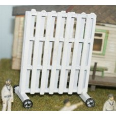 F35bp Painted cricket Sight Screen OO Scale 1:76