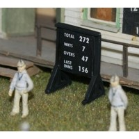 F35c NEW Cricket Portable Scoreboard F35c Unpainted Kit OO Scale 1:76