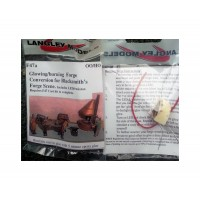 F47a Illuminated Forge conversion (working kit) F47a Unpainted Kit OO Scale 1:76