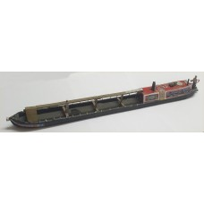 F4c 72ft Canalboat Steamer (OO scale 1/76th)