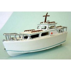 F5e 26ft Cabin Cruiser Waterline Unpainted Kit OO Scale 1:76